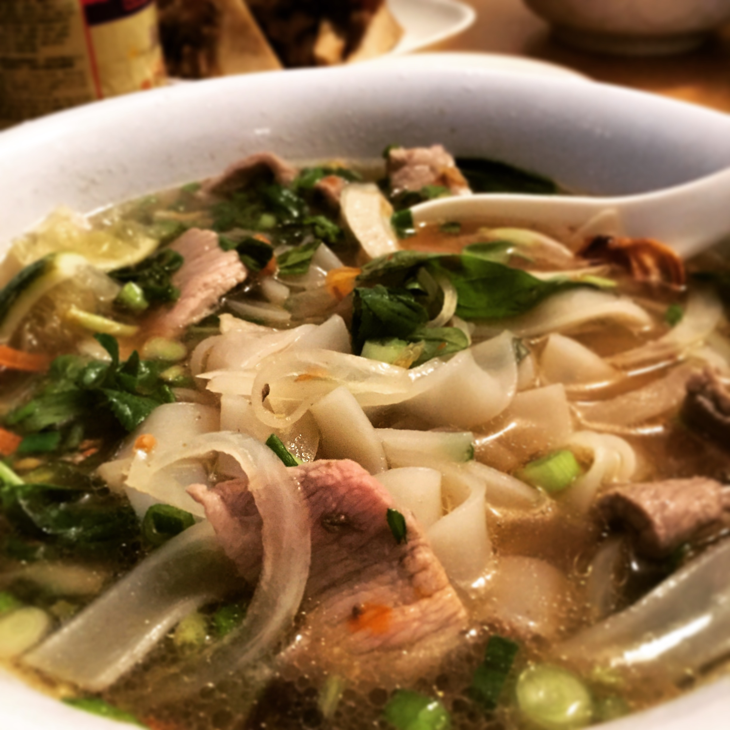 The Secret To A Good Pho Broth Is A Solid Base Of Beef Bones And Plethora Of Spices And Herbs Growing Up In Long Beach Ms We Didn T Have Pho Noodle Shops